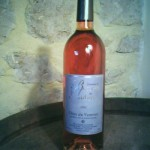 stock de vin rosé