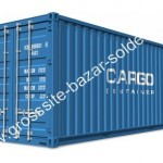 Cargo container solderie palette