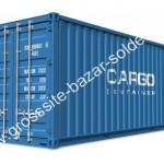 Cargo container solderie palette
